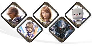 شخصيات موبيوس فاينل فانتازي Mobius Final Fantasy