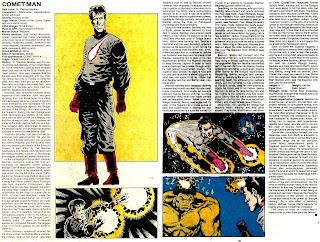 Hombre Cometa (ficha marvel comics)