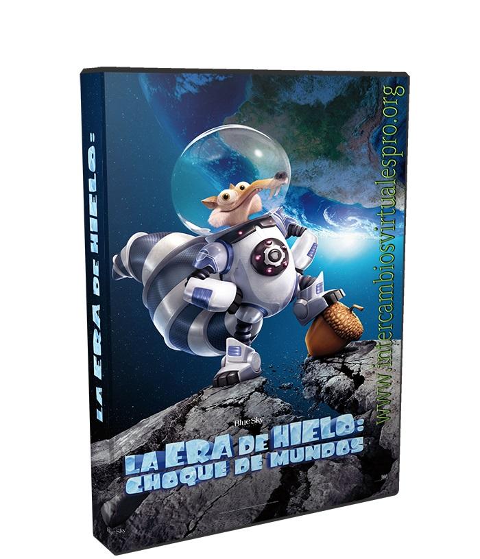 La Era de Hielo Choque de Mundos poster box cover