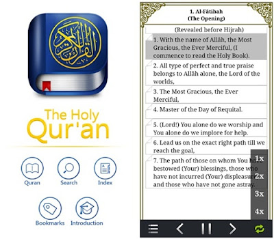 aplikasi the holy quran