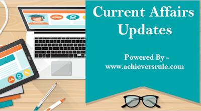 Current Affairs Updates - 8 December 2017