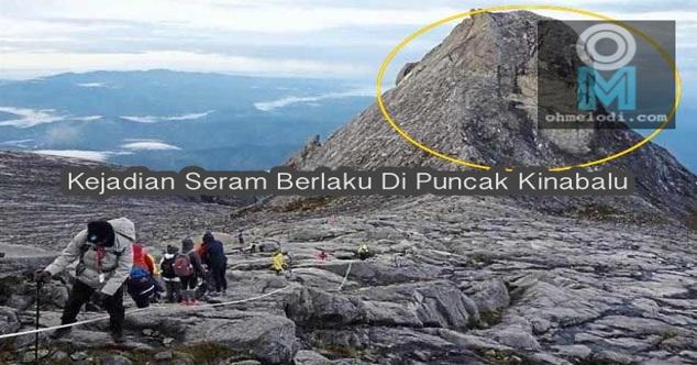 SERAM ! Imej Besar Wajah Manusia MENGGEMPARKAN Pendaki Gunung Kinabalu, Korang Zoom & Perhatikan Betul²