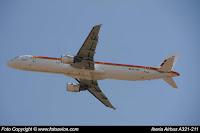 Airbus A321 EC-JQZ