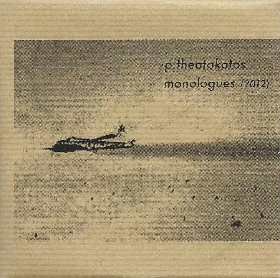 PETROS THEOTOKATOS - MONOLOGUES cd front