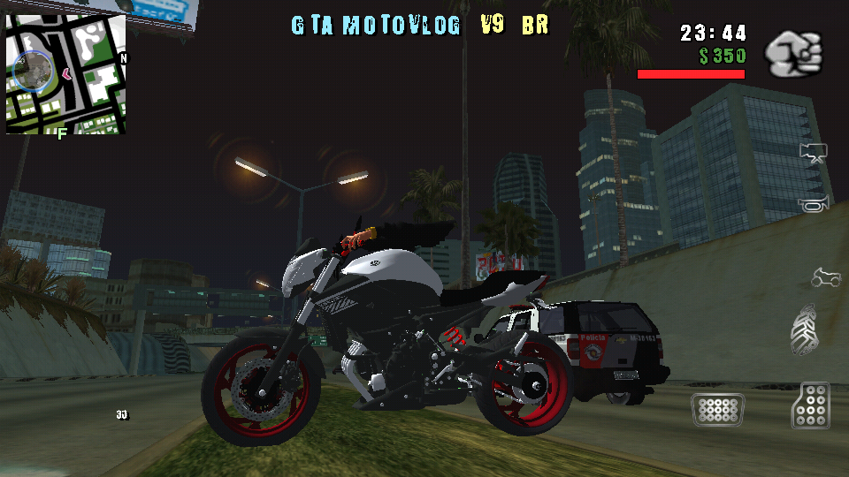 GTA SA Brasil Motovlog v9 Apk + Data Full |