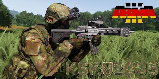 Arma3用のドイツ軍特殊部隊アドオンのジャングル仕様