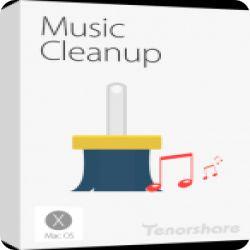 تحميل TENORSHARE MUSIC CLEANUP مجانا لادارة مكتبة الموسيقة في اجهزة الماك مع كود التفعيل