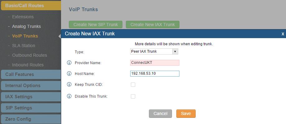 Digitronized: Configuring Inter-PBX Connection Between