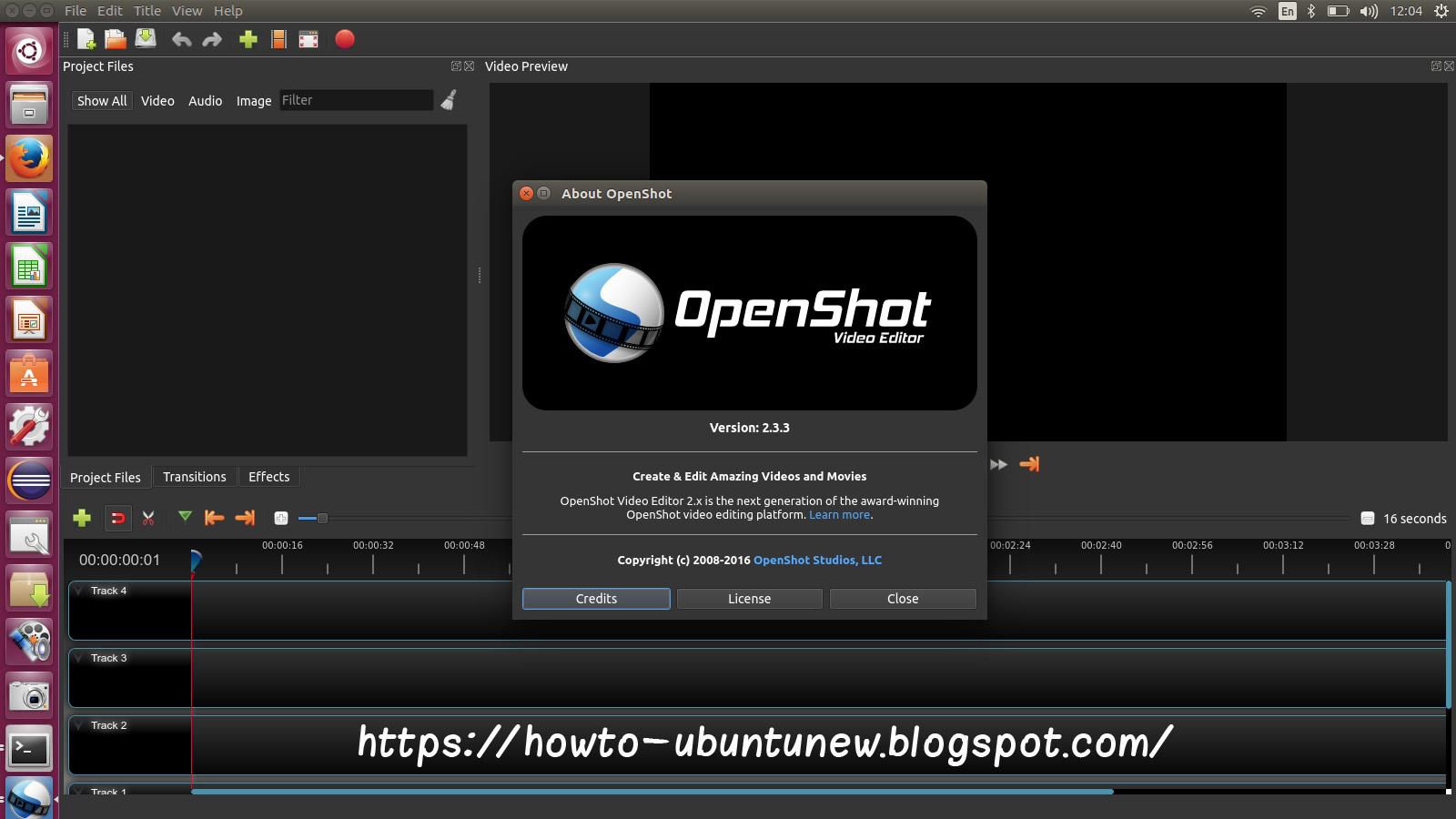 How to install program on Ubuntu: How To Install OpenShot