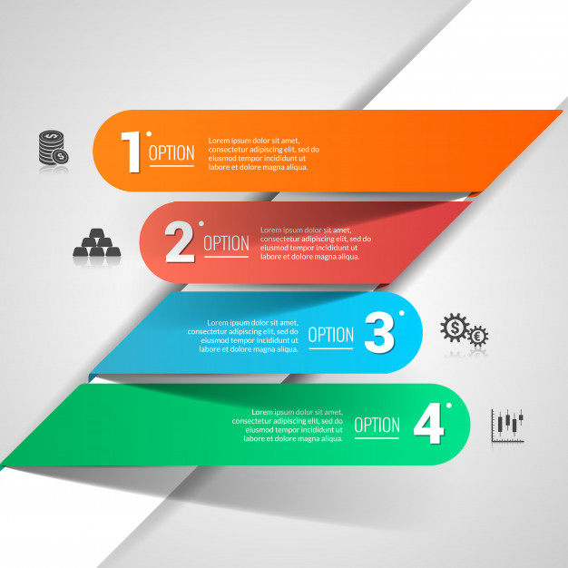 free vector graphics Money finance infographics Free Vector
