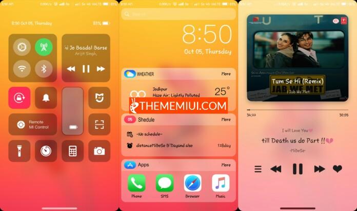 iOS 11x Theme mtz - THEMEMIUI COM