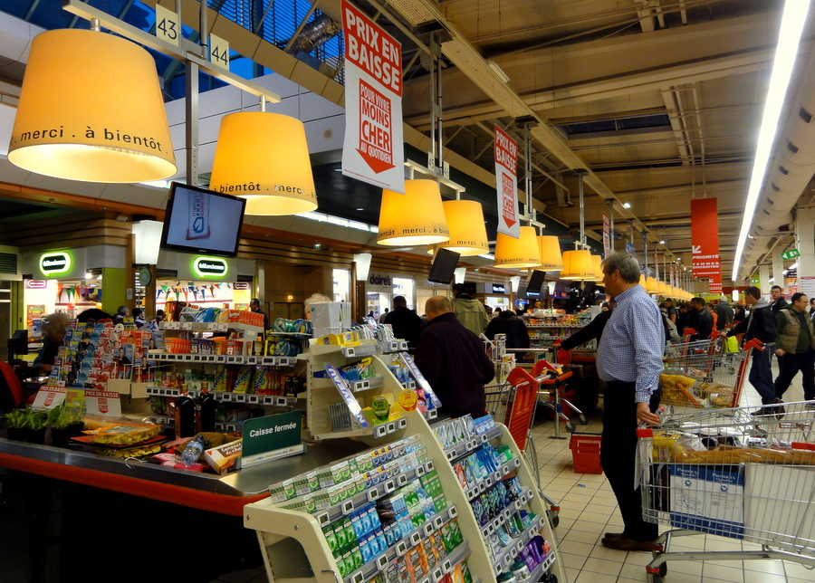 I am a Supermarket Tourist: A trip to the French supermarket