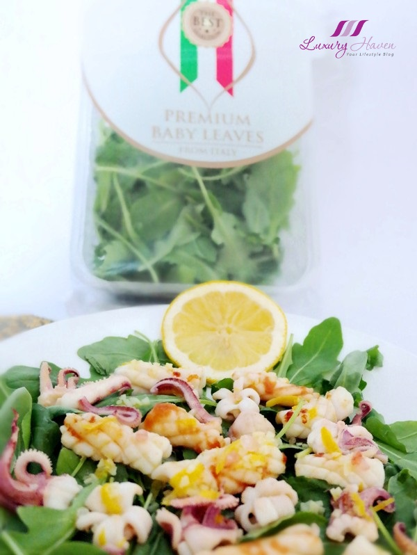 purelyfresh rocket leaves from italy salad recipe
