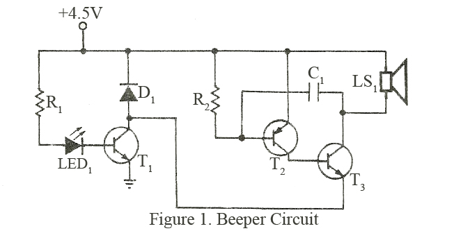 simple amplifier by transistor ac128