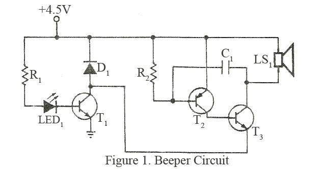 Peachy Simple Beeper Alarm Electronics Wiring Cloud Strefoxcilixyz