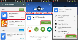 Cara Mendapatkan Banyak Uang Dollar Dari Aplikasi Whaff Rewards