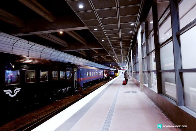 bowdywanders.com Singapore Travel Blog Philippines Photo :: Sweden :: Train from Arlanda Airport to Stockholm City Centre