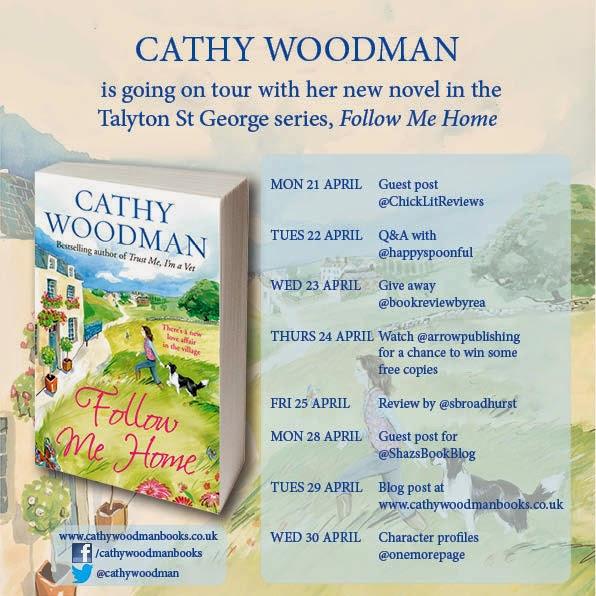 Sarah S Book Reviews Blog Tour Follow Me Home By Cathy border=