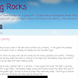Comments4Kids: Comments4Kids Blog Spotlight: Writing Rocks