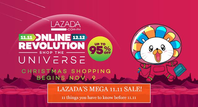 Lazada Online Revolution - 11.11 Midnight Sale