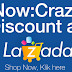 Happening Now: Crazy Discount At Lazada