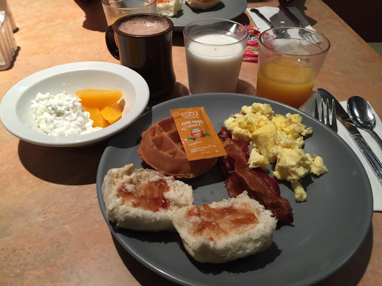 USA états unis amérique vacance transat roadtrip ouest américain lauglhin colorado belle petit dejeuner