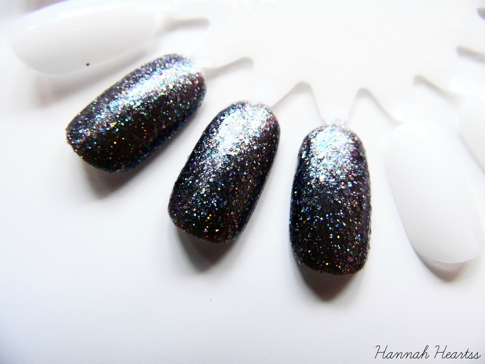 Barry M Glitterati Nail Polish Rockstar Swatch