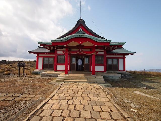 箱根駒ケ岳山頂の箱根元宮