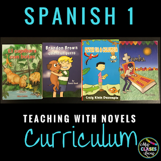 Curriculum Year 6 - Teaching Spanish with Novels - Spanish 1