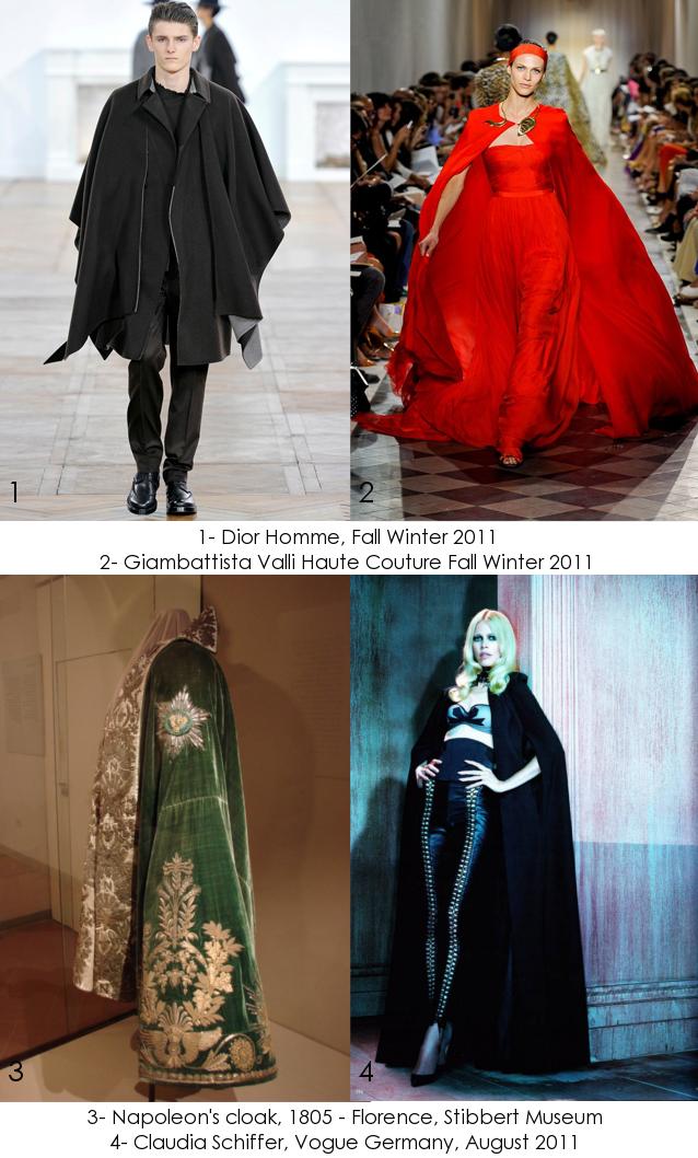 Fashion Glossary: Cloak - Mantello