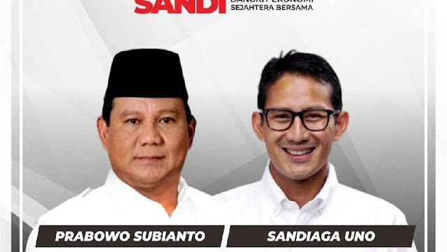 Beredar Susunan Tim Badan Pemenangan Nasional Prabowo-Sandi