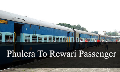 Phulera To Rewari Passenger Train