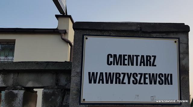 Warszawa Warsaw Bielany cmentarze warszawskie groby nagrobki