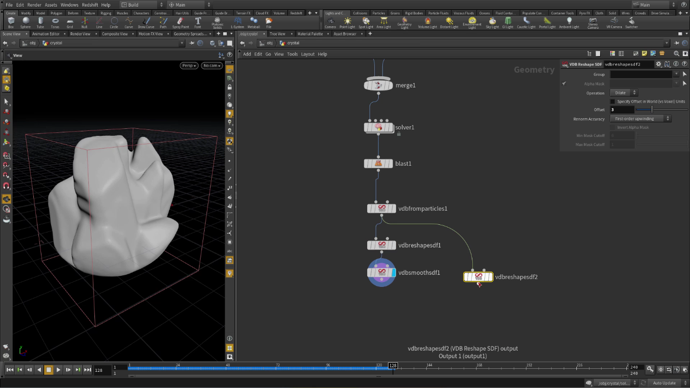 Point Based Growth Solver In Houdini | CG TUTORIAL