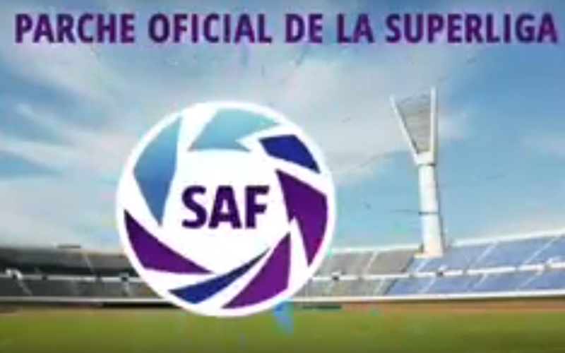 El parche de la Superliga Argentina de Futbol (SAF)