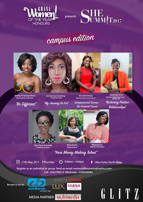 She Summit: 2nd Edition Of The Ghana Women Of The Year Honours In May