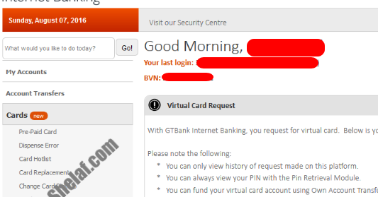 All You Need to Know About GTBank Virtual MasterCard