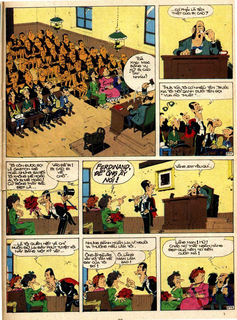 Lucky Luke tap 1 - ban tay nham trang 28