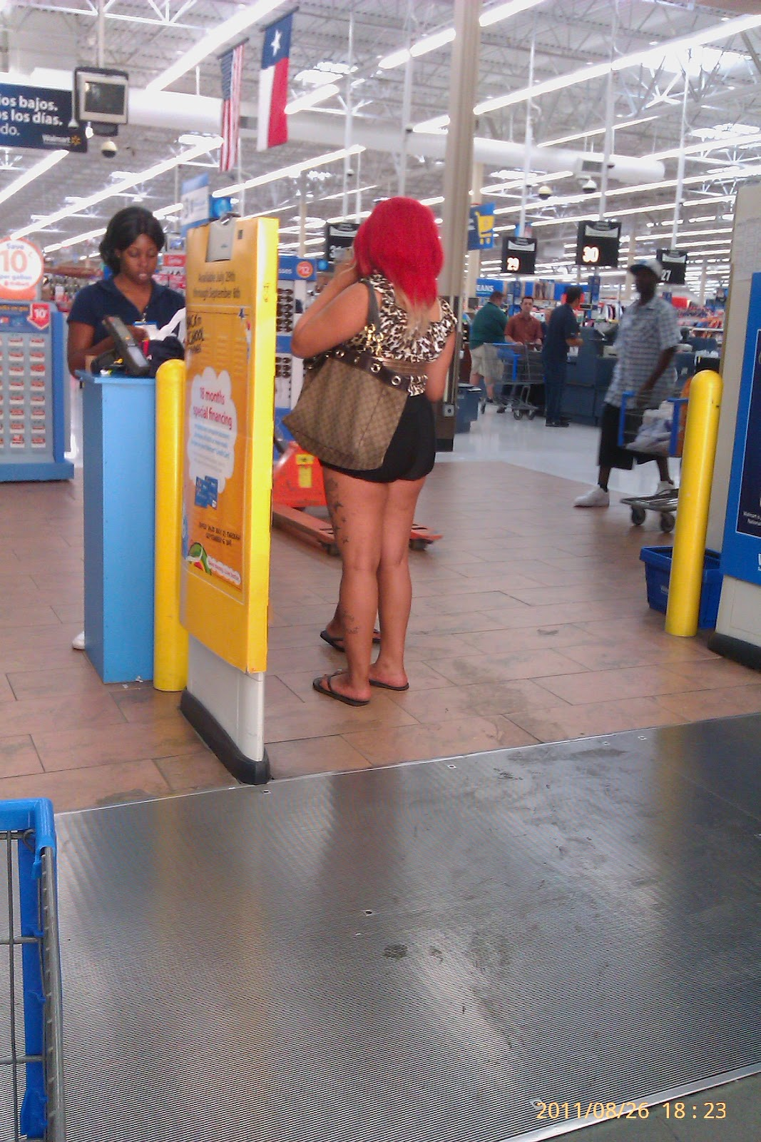 walmart funny meanwhile seen texas they