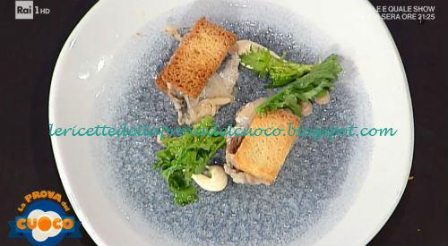 Sandwich di sarde con maionese al saòr ricetta Vincenzo Lebano da Prova del Cuoco