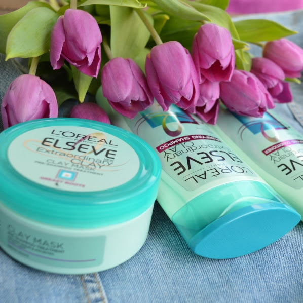 L'Oreal Elseve: Extraordinary Clay, šampon balzam in maska