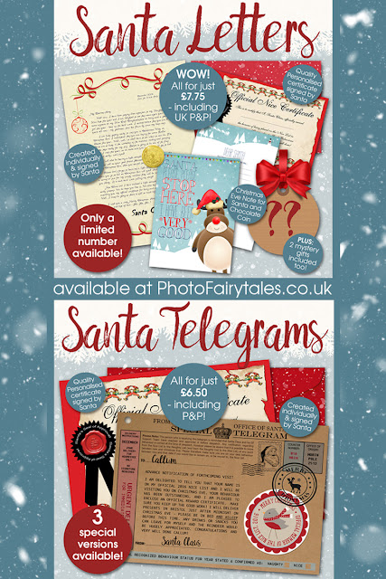 personalised Santa Letters and Telegrams from PhotoFairytales