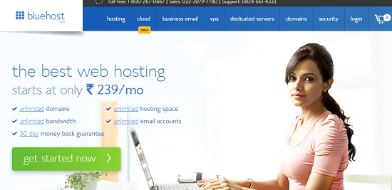 Bluehost Indian Review