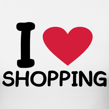 Resultado de imagem para Some people love to shop.