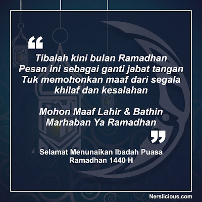 20 Ucapan Ramadhan 2019 (1440 H) Terbaru untuk Sanak Saudara dan Teman