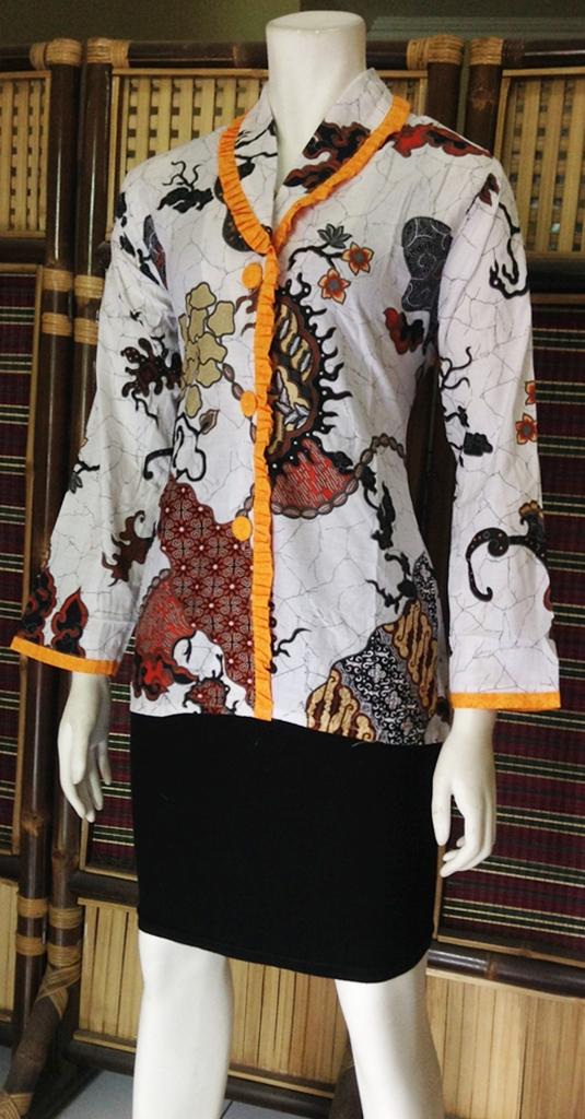 Blouse Batik terbaru
