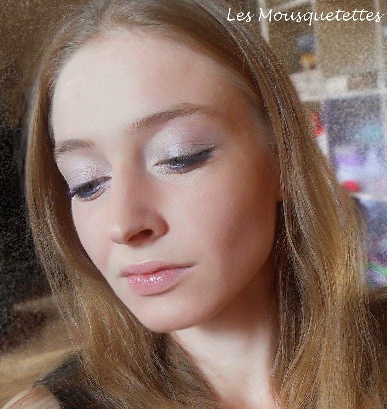 Makeup léger smoky eyes inversé - Les Mousquetettes©