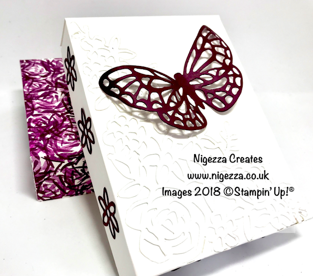 Stampin' Up!® Abstract Impressions Butterfly Gift Box
