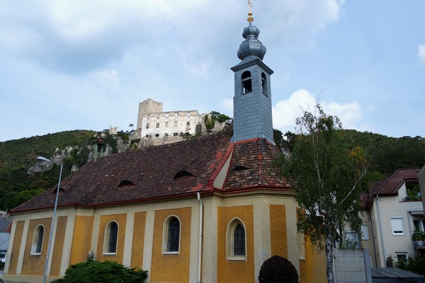 baden bei wien helenental rauhenstein ruines château kirche église