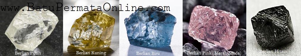 Jenis dan Warna Berlian